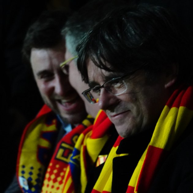 "Puigdemont, welcomed to Perpinyà: ""I'm excited to be back on Catalan soil"""