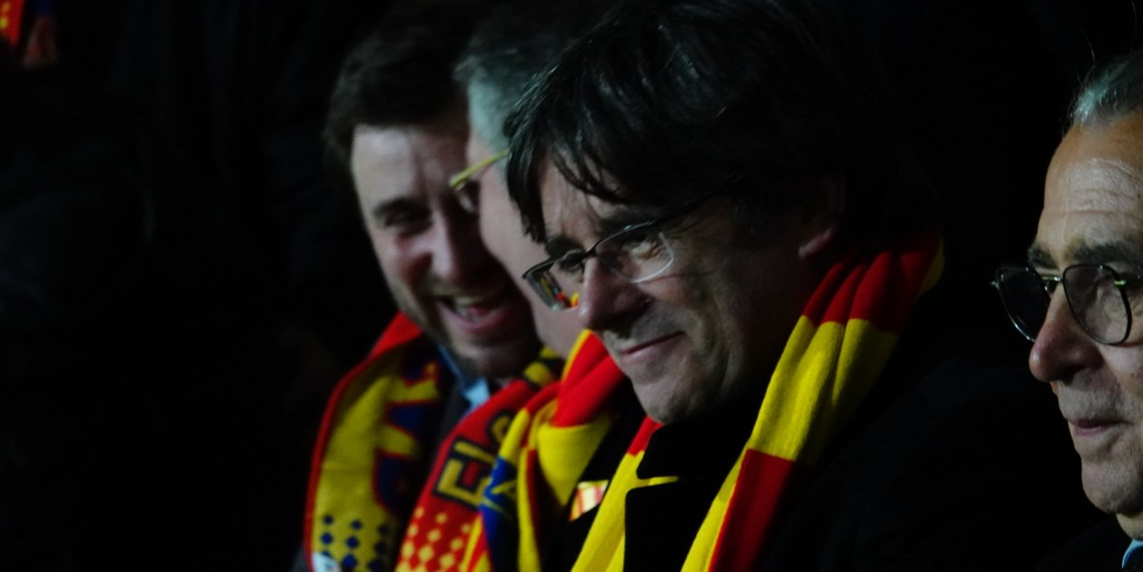 """Puigdemont, welcomed to Perpinyà: """"I'm excited to be back on Catalan soil"""""""
