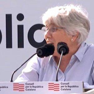 """Ponsatí criticises Pedro Sánchez's """"deceitful dialogue"""""""
