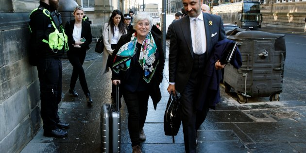Ponsatí , cautious after court hearing :  Spain is acting in an un - European way