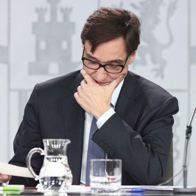 Health minister Salvador Illa, in the eye of the Spanish coronavirus storm