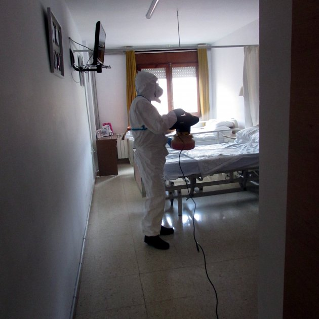 Over 500 coronavirus deaths in senior citizens' residences in Catalonia in March