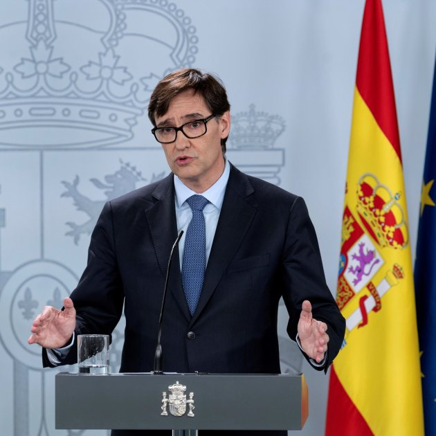 "Coronavirus | Spanish health minister Illa: ""The figures offer a window of hope"""