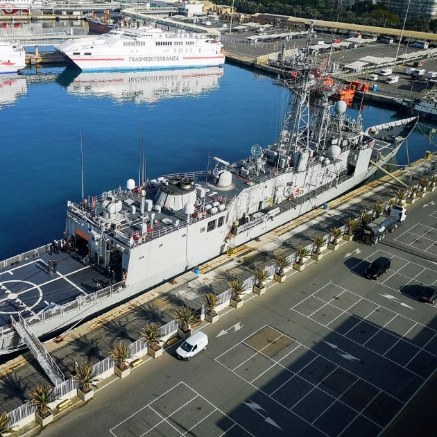 Fungal infestation in all frigates sold by Spain to Norway