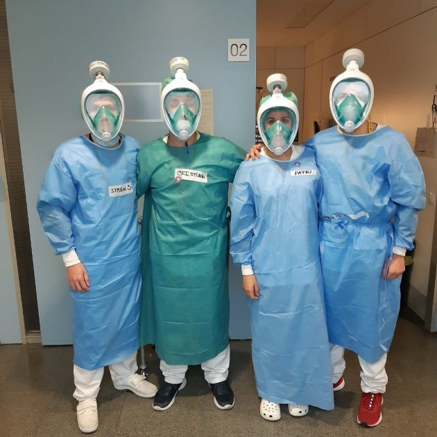 Coronavirus | Hospital de Sant Pau receives 3D face masks to protect healthcare professionals