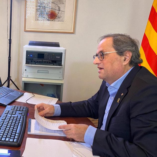 Coronavirus | Torra demands that Sánchez extends the full lockdown