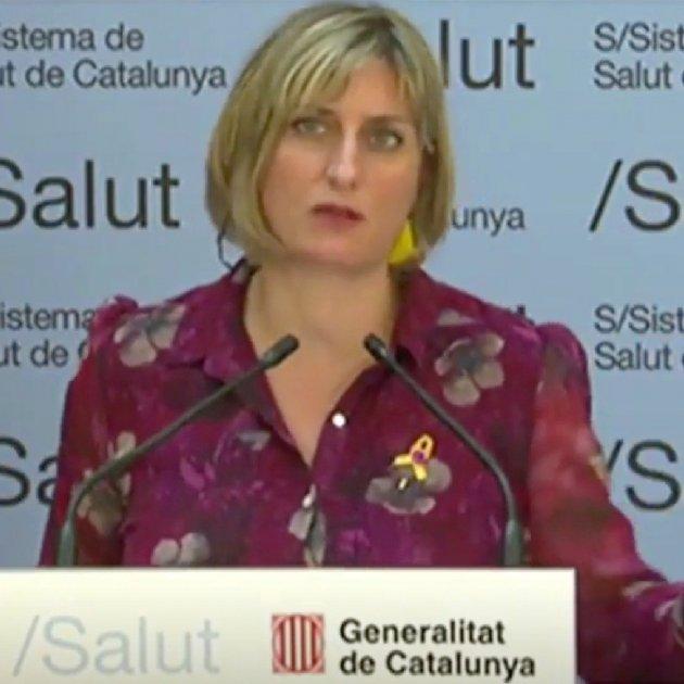 "Catalan health minister: ""It may not be the coronavirus peak. It may be a ridge"""