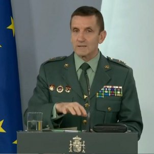 "Spanish Civil Guard head: ""Our job, to reduce negative climate towards the government"""