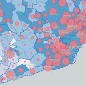 MAP | Coronavirus cases in Catalonia by towns and neighbourhoods