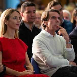"Aznar rides to the rescue of Álvarez de Toledo after her ""terrorist"" accusation"