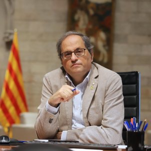 """Coronavirus in Catalonia: """"A much greater effort is needed"""", says Torra"""