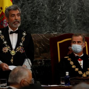Spain's constitutional paralysis on display as king Felipe opens the judicial year