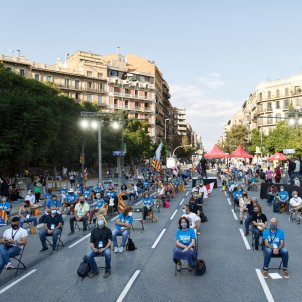 Catalan independence draws 60,000 people, in 131 high-safety protests