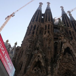 The skyward rise of Barcelona's Sagrada Família, slowed by the pandemic