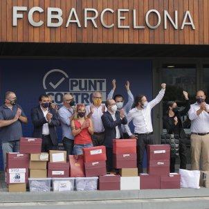 20,731 Barça club members send Bartomeu's board to a likely no-confidence vote