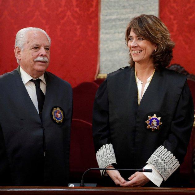 Luis Navajas Fiscal Dolores Delgado - Efe