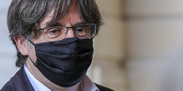 "Puigdemont: ""There is a coup in process, the Spanish king at its head, judges behind"""