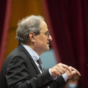 "Torra, ex-president, demands a ""tooth and nail"" defence of the Catalan Parliament"