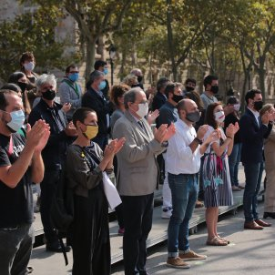 The Catalan independence movement reflects: an image of unity, different discourses