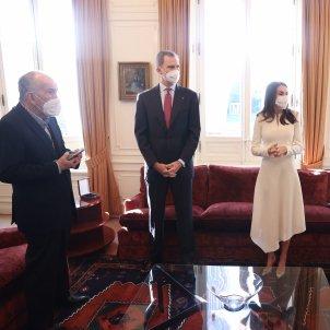 Spanish king Felipe VI visits Barcelona in secret to award Cervantes prize