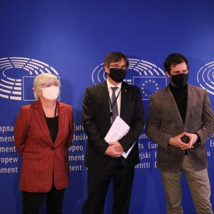 "MEPs Ponsatí, Puigdemont and Comín: ""We'll fight for our parliamentary immunity"""