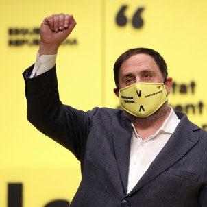 """Junqueras backs 4-party executive: """"We don't want to choose between Junts and Comuns"""""""