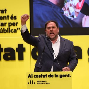"An energized Junqueras: ""If ERC doesn't win, it'll be those who always win"""