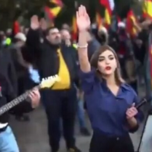 Twitter suspends account of anti-Semite who addressed Spanish fascist rally