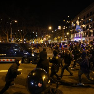 Second night of violent protests in Catalonia after jailing of rapper Pablo Hasél