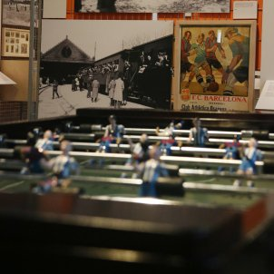 In Barcelona, football is culture and you can play in the museum
