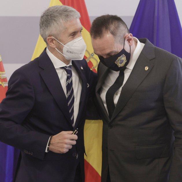 EuropaPress 3850060 ministro interior fernando grande marlaska homologo serbio aleksandar vulin