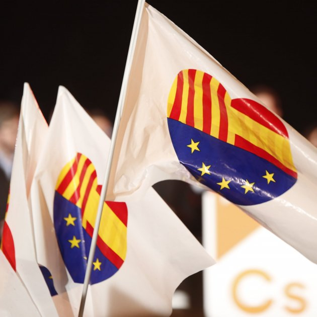 bandera ciudadanos corazon - sergi alcazar