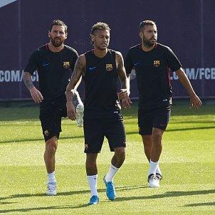 Jordi Alba: 'Neymar is a Barça player until he says otherwise'