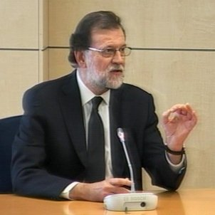Rajoy denies any knowledge of illegal party funding