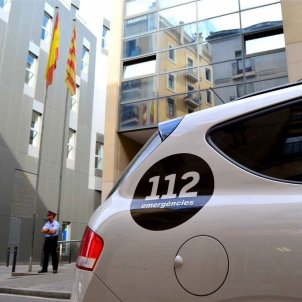 Four hooded figures assault citizen in Figueres polling station