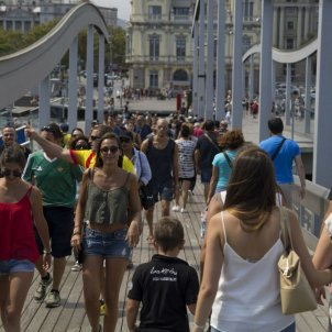 Spending by international tourists in Catalonia rises 6.3% year-on-year