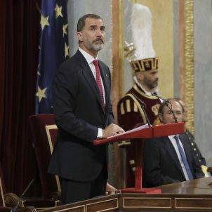 Where is king Felipe VI?