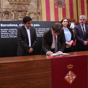 Catalan president, Barcelona mayor call demonstration for next Saturday