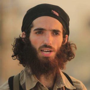 Who is the terrorist threatening Spain in Daesh's new video?