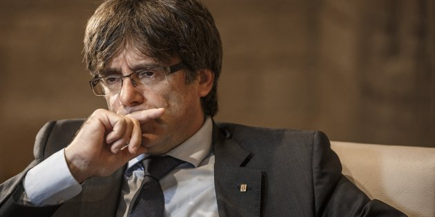 """Puigdemont: """"I will propose to Rajoy a short transition to independence if 'yes' wins on 1st Oct"""""""
