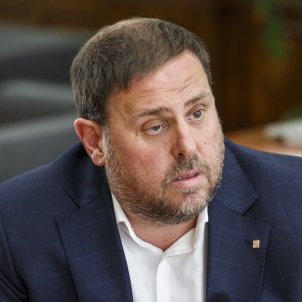 "Junqueras: ""An electoral interview is a first victory against the repression"""