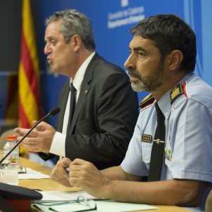 Forn and Trapero asked Spanish officials for there to be no violence during referendum