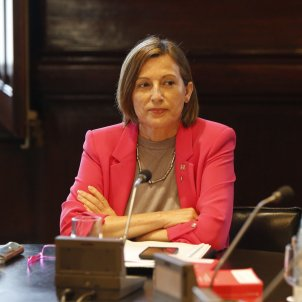 Forcadell lodges an appeal to reject magistrates of TC