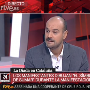 Spanish public broadcaster creates parallel reality to Catalan National Day