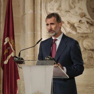 King Felipe VI heats up the Catalan independence referendum issue