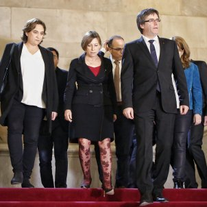 Letter from Puigdemont, Junqueras, Forcadell and Colau, to Rajoy and the King, to negotiate 1st Oct