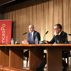 Spanish ambassador in Paris fails to prevent Catalan foreign minister's conference
