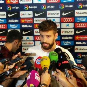 "Piqué, crying: ""Playing today's match was the worst experience of my life"""