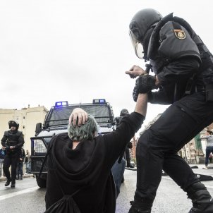 First Spanish police charged over Catalan referendum