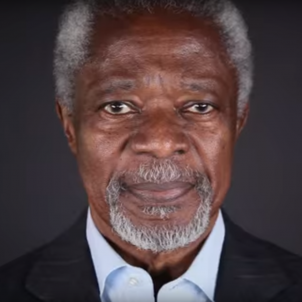 Kofi Annan hoists Catalan 'estelada' flag on social media, then lowers it again
